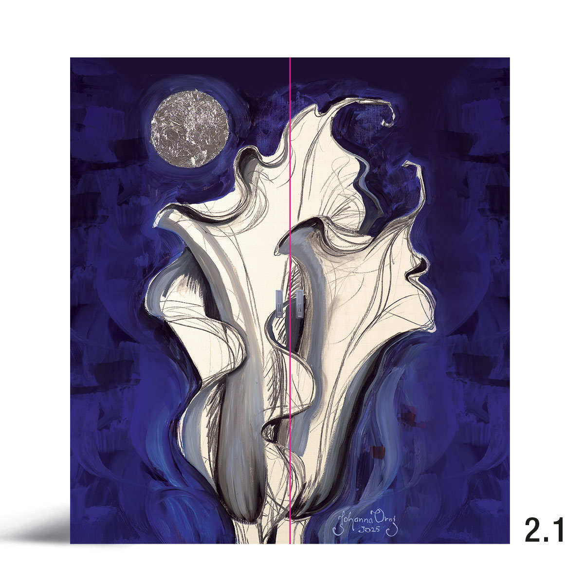 Liune Taide - D20 by Johanna Oras: Blue Velvet pariovi