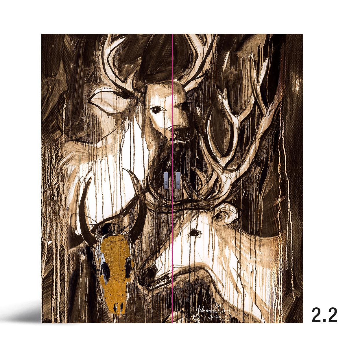 Liune Taide - D20 by Johanna Oras: Maaginen hetki pariovi