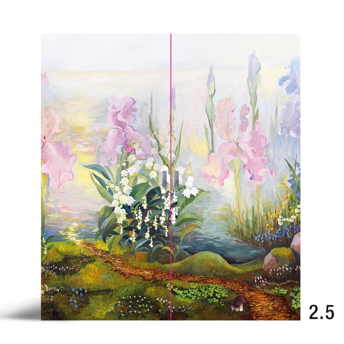 Liune Taide - D20 by Johanna Oras: Onnellisuuden polulla pariovi