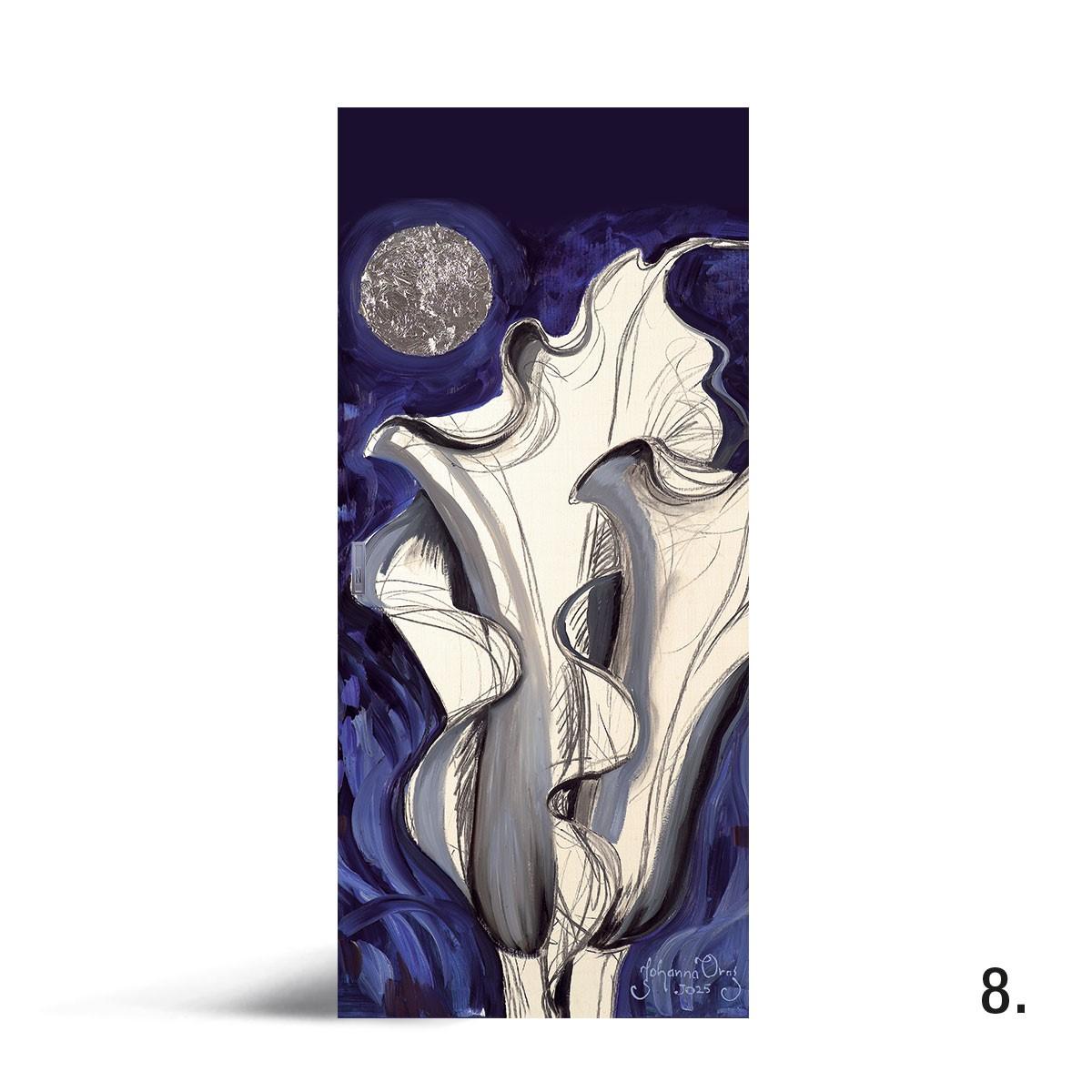 Liune Taide - D20 by Johanna Oras: Blue velvet