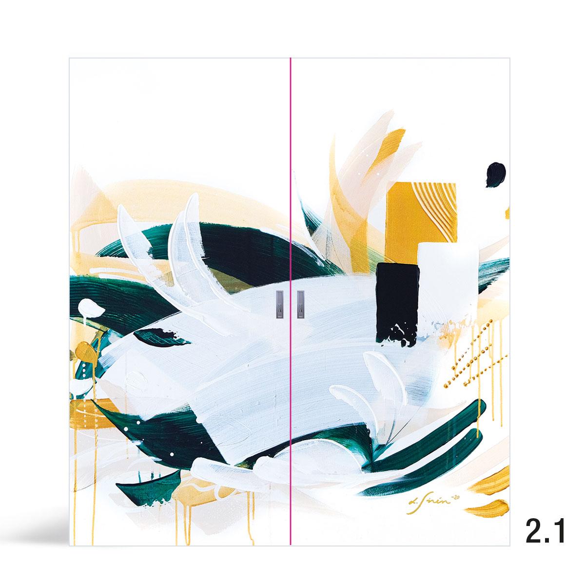 Liune Taide - D20 by Lotta Sirén - Tres pariovi