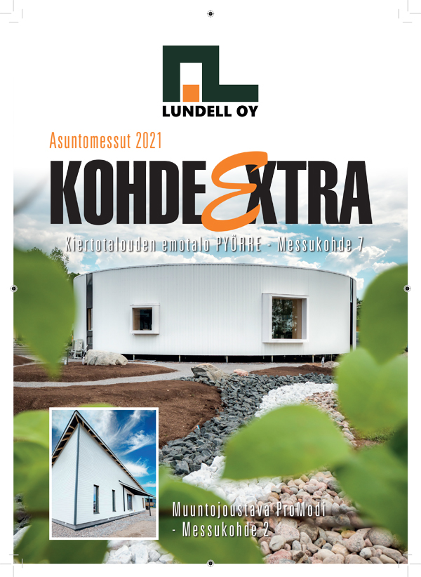 Lohjan asuntomessujen kohde-extra Liune Aulis Lundell Oy Pyörre-talo ProModi