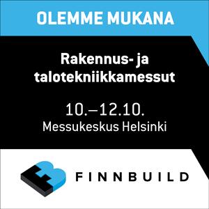 Finnbuild 2018 Aulis Lundell Oy Liune