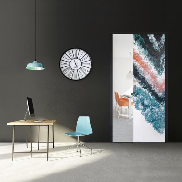 Fleminginkatu 12B, Unelmien kotitoimisto Liunen taideovella D20 Liune pop up -galleriassa