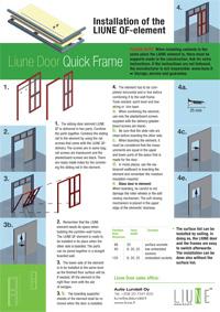 Qf element installation instructions