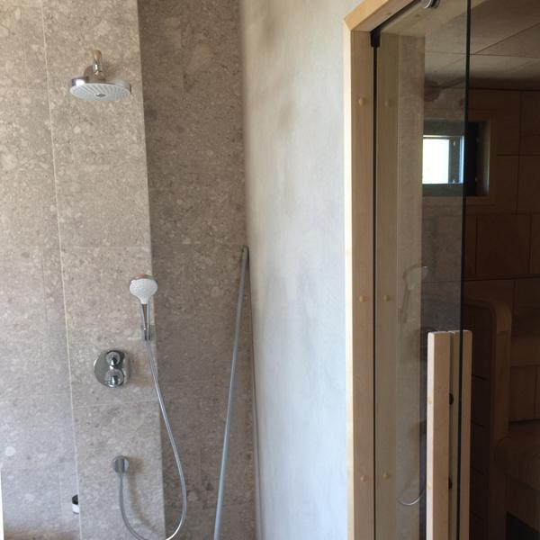 Bastu dörr täckkarmar- Solid trä, materialen är asp.
