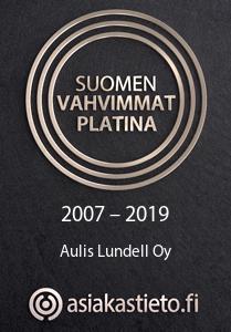 Suomen vahtimmat platina 2019 Aulis Lundell