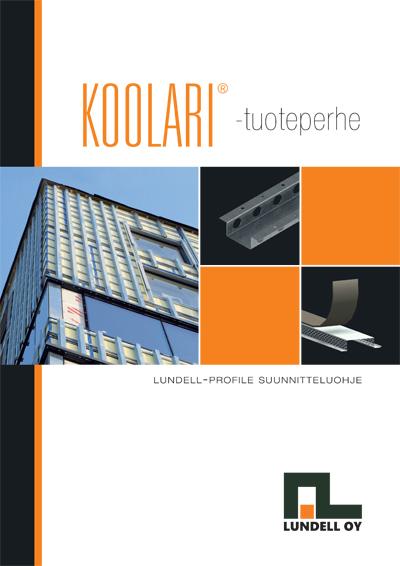 Koolari-julkisivutuoteperheen suunnitteluohje