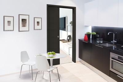 Köket med Liune dörr