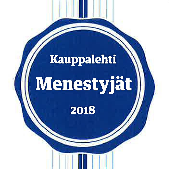 Menestyjät 2018 Aulis Lundell Oy